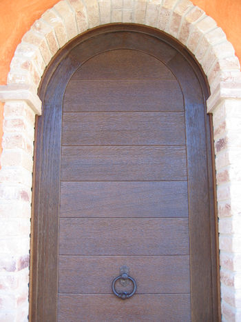 Portone ad arco porte e portoni parquet puzzle mille pezzi by falegnameria lu na - Porte interne ad arco ...